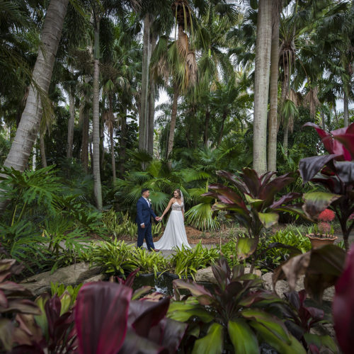 Sunken Gardens Wedding