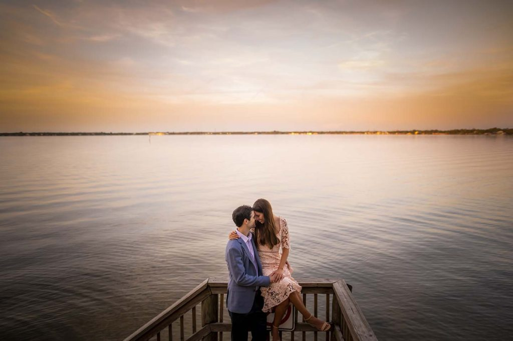Philippe Park Engagement Shoot Sunset