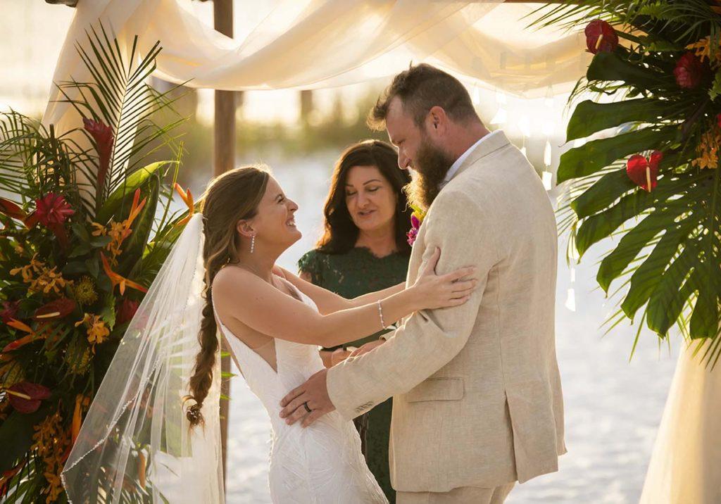 Anna Maria Beach Wedding